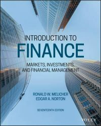 Introduction to Finance by Ronald W. Melicher Edgar A. Norton